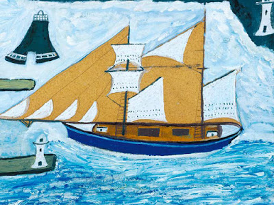 Alfred Wallis - Painting Day - St Ives Library