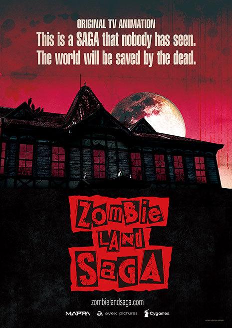 El nuevo anime Zombieland Saga se estrenara en otoño