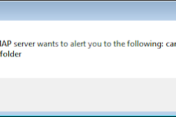 Solved : Your IMAP Server Wants to Alert you to the following : cannot remove system folder