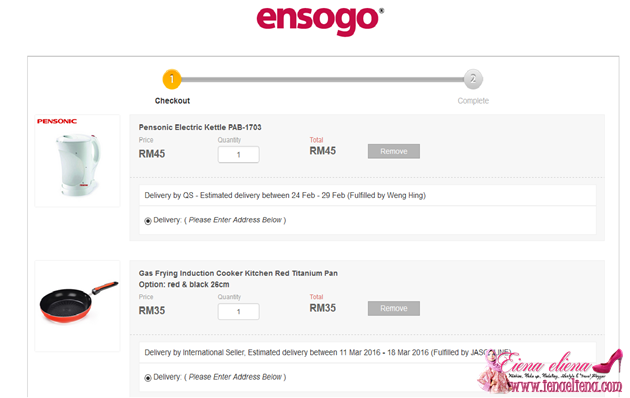 EnSogo Tempat Best Shopping Barang Anak