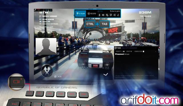 Capture mudah XSplit GameCaster