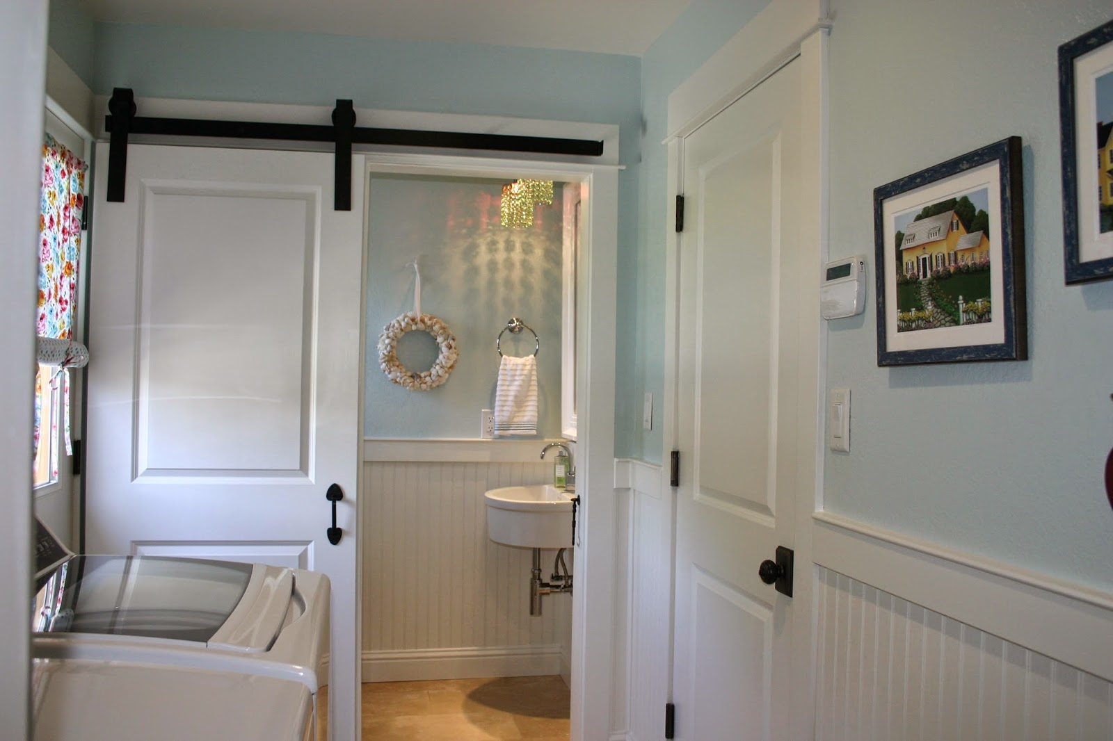 Home Is Where The Heart Is Laundry Amp Powder Room Combo