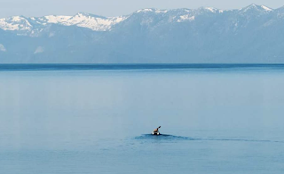 Lake Tahoe Is Full: It's been 11 years since this happened to Lake Tahoe, and it's beautiful