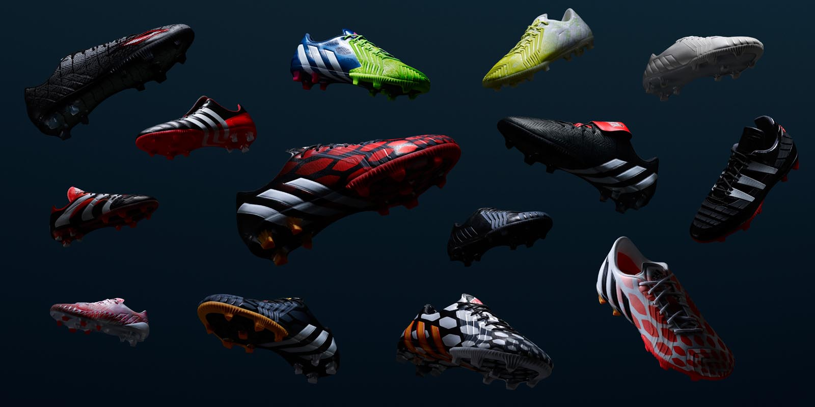 Adidas Predator Soccer Shoes Is Made Of