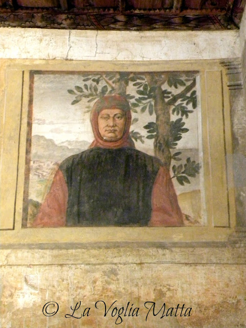 Arquà Petrarca casa di Francesco Petrarca