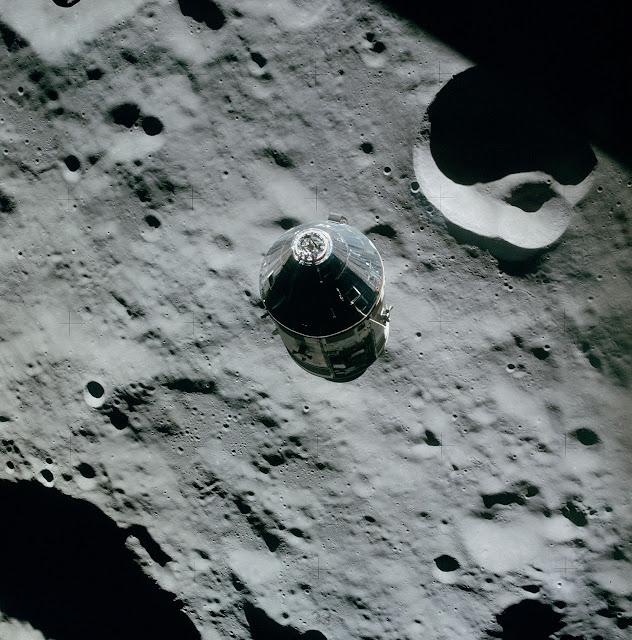 Аполло́н-16 Лунный модуль стыковка