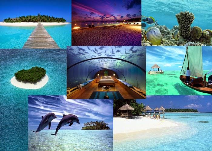 Maldives Moodboard