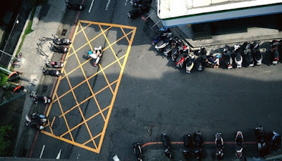 Tips Parkir Aman dan Tidak Disangka Curanmor, parkir motor, parkiran, parking
