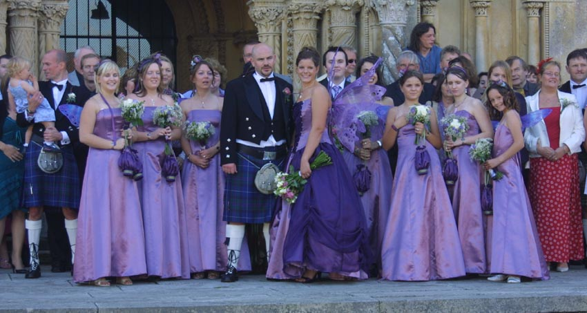 Unique Wedding Dresses Scotland: Choose Your Wedding Colors: Purple Tones : Have Your Dream