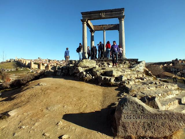 Mirador los cuatro postes en Ávila