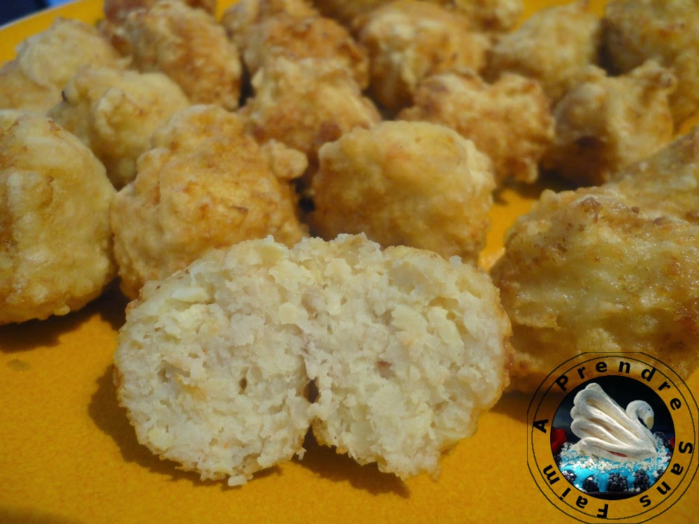 Boulettes  poulet crevettes