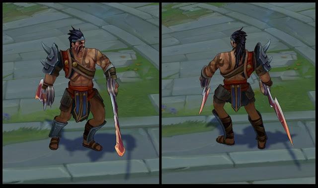 Mod Skin Gladiator Draven 2