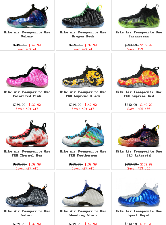 super popular cf79c 981af Nike Air Foamposite One   Pro Shoes Cheap For Sale