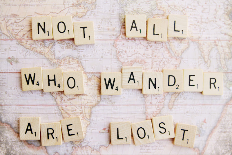 Sincerely Kinsey Not All Who Wander Are Lost Magnet Board Diy