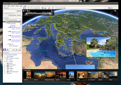 mapollage google earth