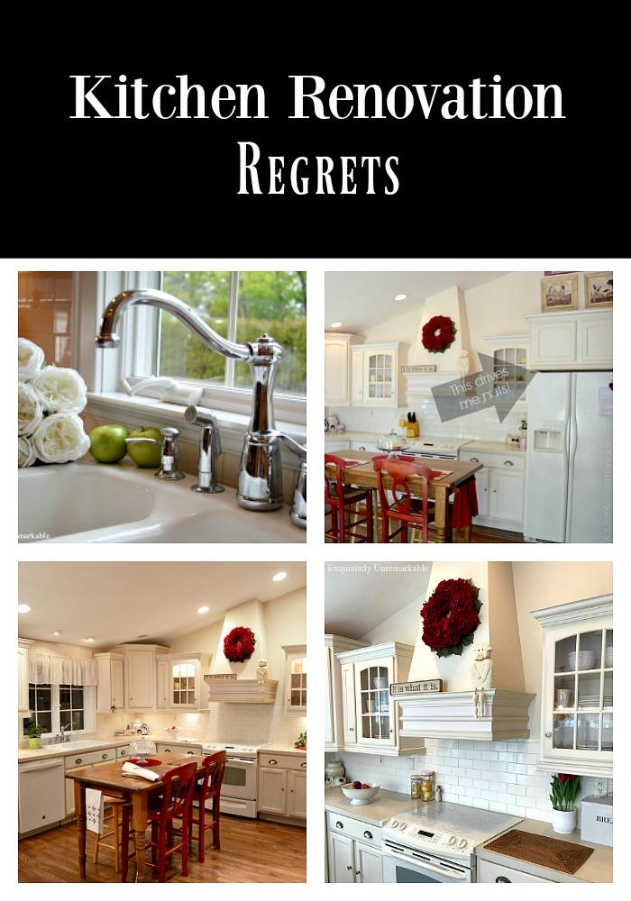 Renovation Regrets