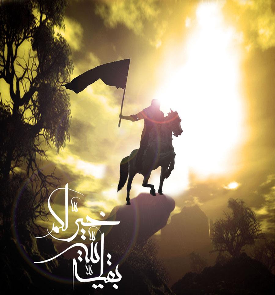 Gambar Pejuang Islam Berkuda