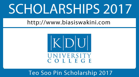 Teo Soo Pin Scholarship 2017