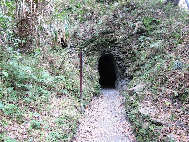 tunnel lushui trail taroko gorge taiwan
