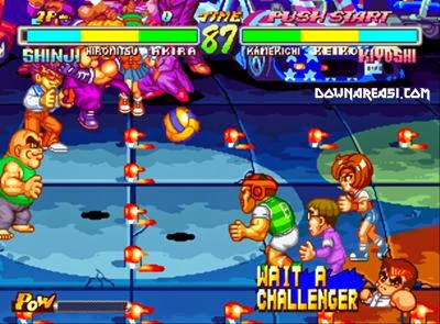 Super Dodge Ball (Neogeo) - Download Game PS1 PSP Roms ...