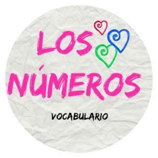 VOCABULARIO ELE. Los números