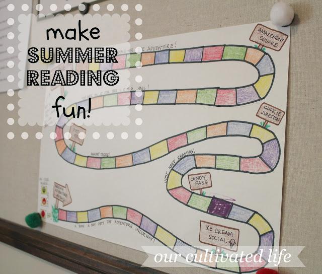 summer reading chart