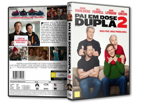 Capa DVD Pai em Dose Dupla 2 [Custom]