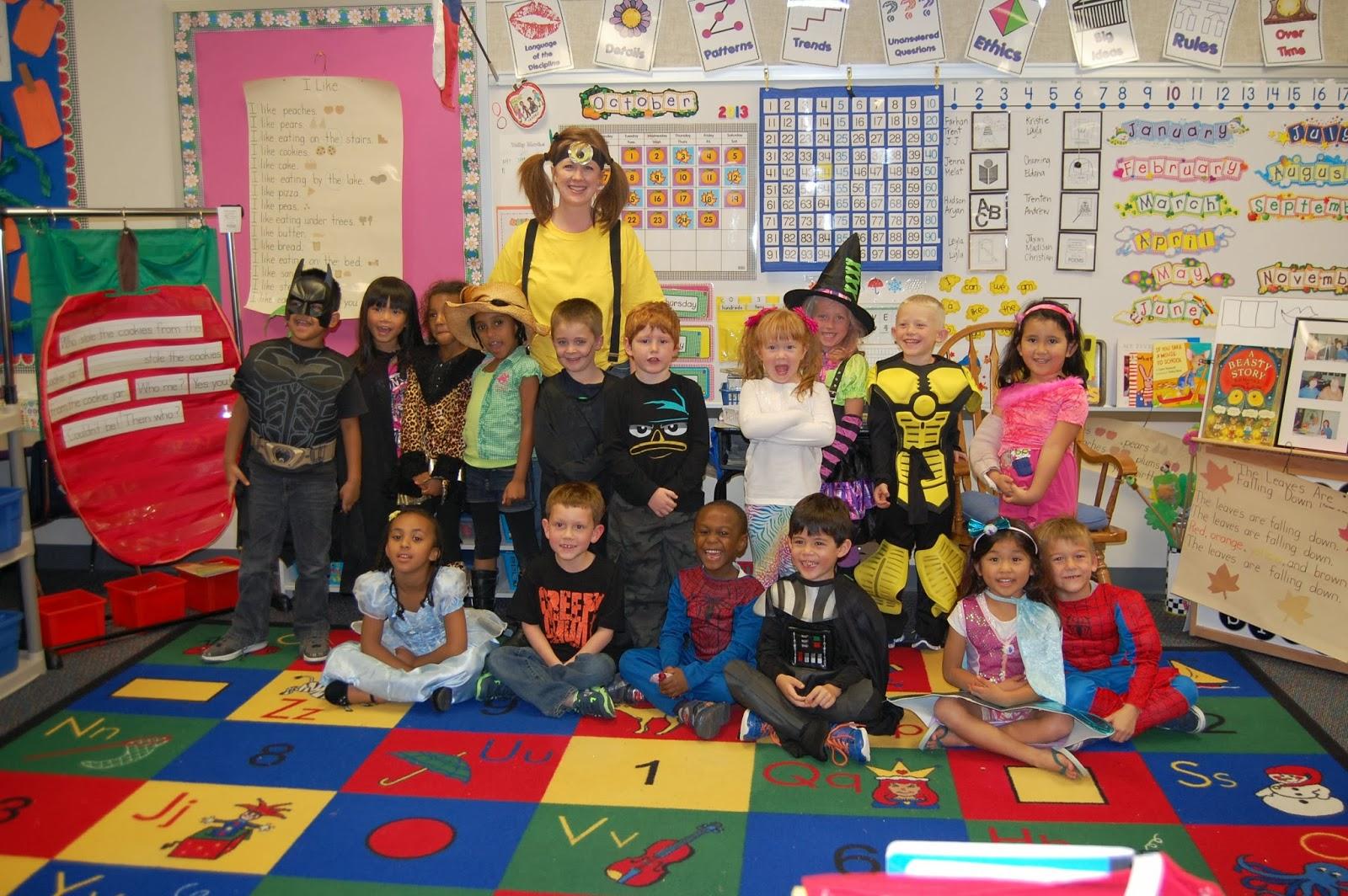 Donnell Days Kindergarten Class Halloween Party