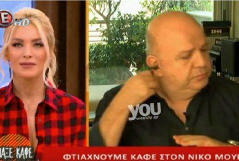 Μαλλιά κουβάρια! Εκτός εαυτού ο Νίκος Μουρατίδης με την Καινούργιου on air -Τι συνέβη; (Video)