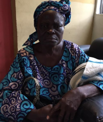 Photos: Elderly woman's pension stolen by fraudsters in Lagos