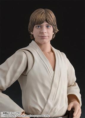 Luke Skywalker per la linea S.H. Figuarts