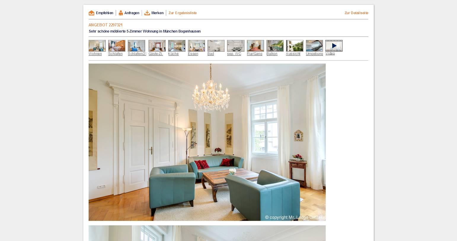 alias herr ehrlichmann sehr sch ne m blierte 5 zimmer wohnung in. Black Bedroom Furniture Sets. Home Design Ideas