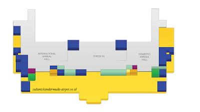 peta bandar udara sultan iskandar muda atau bandara SIM