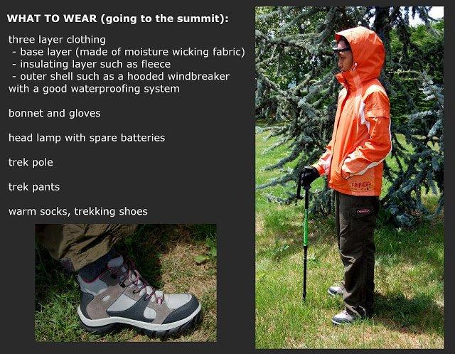 mt pulag trekking tips