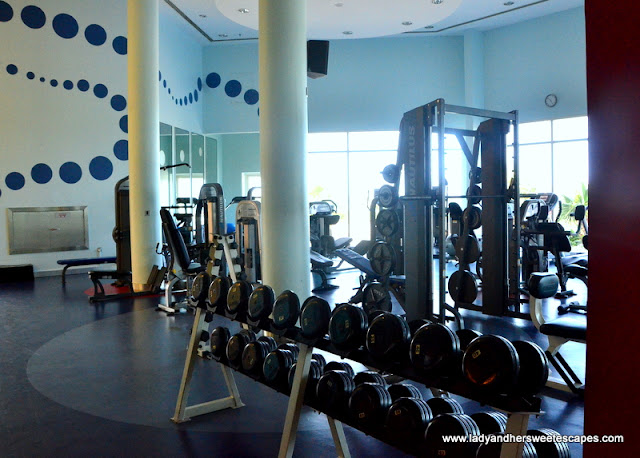 Danat Jebel Dhanna fitness center