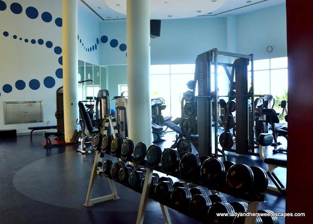 Danat Jebel Dhanna fitness center