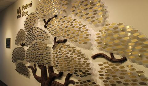 L'arbre à brevets d'USAA
