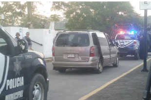 Balacera en Acayucan sobre carretera federal Transístmica; 3 heridos