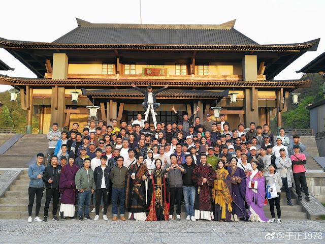 Hao Lan Zhuan Filming Wu Jinyan Nie Yuan