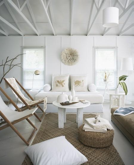 50 Desain Interior Ruang Tamu Minimalis, Modern, Dan Klasik Warna Cat Putih
