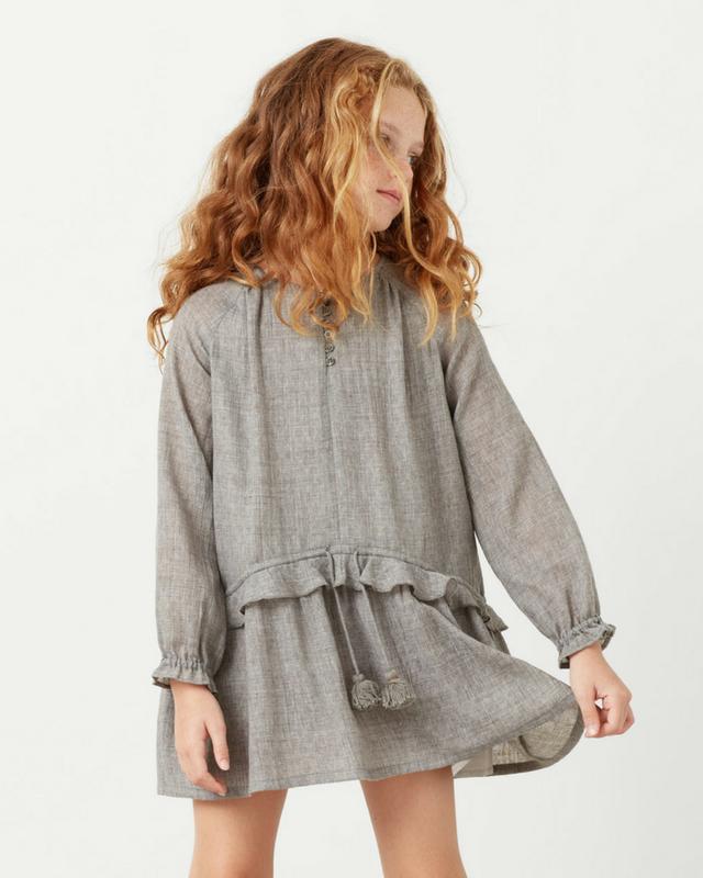 vestido-mango-gris