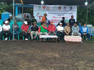 Dandim dan Bupati Sumbawa Teken Aksi Damai Kesadaran Penghijauan dan Pelestarian Hutan