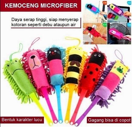 Microfiber, alat pembersih