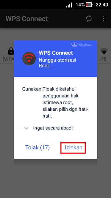 Cara WPS Connect