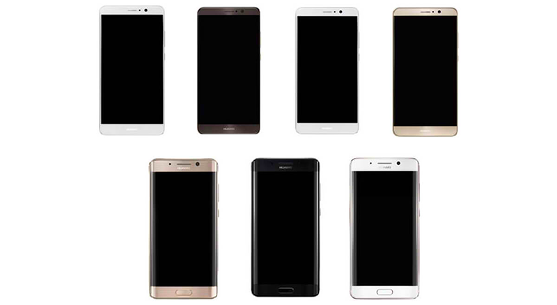 Leak: Huawei Mate 9 Will Have A Dual Curved Screen Version!