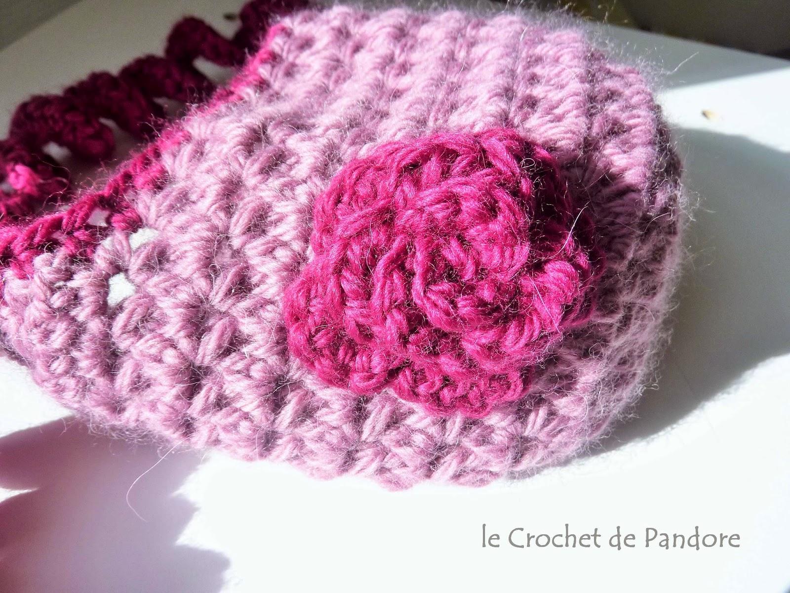 ee72e660c4be le Crochet de Pandore  Bonnet bébé Sweet Kiwi