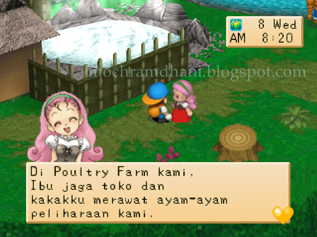 Harvest Moon Back To Nature PSX (PS1 For PC) | Moch.R Blogger