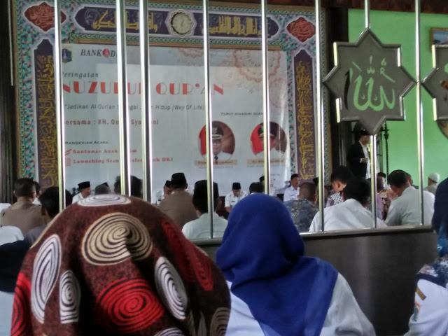 SMAN 110 Hadiri Peringatan Nuzulul Quran di Walikota Jakarta Utara