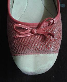 Restaurando a sapatilha