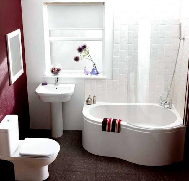 menata kamar mandi minimalis